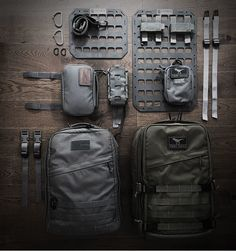 EDC - Modularity Reboot - The Carry Ideology - Carryology - Exploring better ways to carry Molle Backpack, Tactical Backpack, Mochila Molle, Molle Gear, Edc Bag, Edc Tactical, Bushcraft Gear, Chest Rig, Edc Everyday Carry