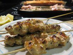 Fatback and Foie Gras: Chicken Souvlaki with Tzatziki-- Kalamaki Style Southern Food, Southern Recipes, Chicken Souvlaki, Foie Gras, Tzatziki, Kabobs, Slow Cooker Chicken, Slow Cooker Recipes, Yummy Treats