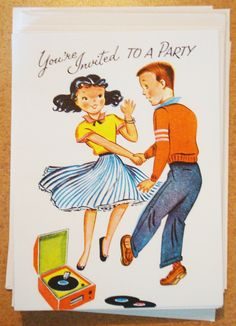 Vintage Dance Party! invite