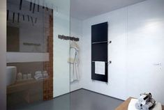 Spacious Bedroom Interior by Studio Tolicci shower cabin