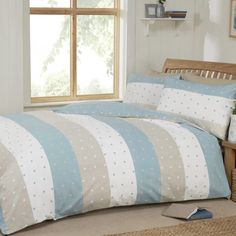 Image result for grey cream striped duvet cover