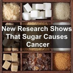 New Research Shows That Sugar Causes Cancer. Get all the details here.