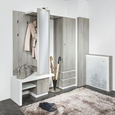 Though an entryway can look like one of many least necessary rooms in a house, the entry level o. Small Apartment Living, Small Apartments, Vestibule, Wardrobe Closet, Doorway, House Rooms, Mudroom, Entryway Decor, Inspiration
