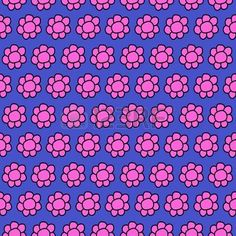 Cute Doodle Flowers Seamles repeat pattern design trend 2017