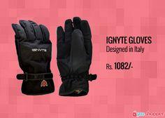 #IgnyteGloves Ignyte Gloves Designed in Italy #Bikerssafety order now from www.yooshopper.com, http://www.yooshopper.com/product/16813/547/ignyte-gloves?lcId=145431