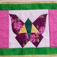Quilting : Butterfly placemat