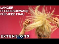 Langer Pferdeschwanz für jede Frau | Clip Haare Extensions.