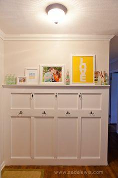 Entryway Project :: Board & Batten Detailed How-to » Casa de Lewis