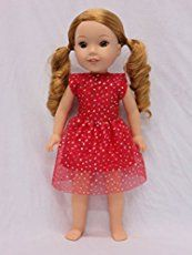 Garden Party Dress | Free Sewing Pattern | American Girl Wellie Wishers Doll Clothes Pattern – Sunset Family Living