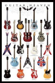 Guitar heaven pósters | láminas | fotos