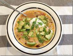 chicken enchilada soup 2