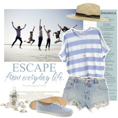 Escape from daily life~, created by mandymink on Polyvore