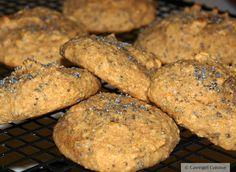 Lemon Poppy Seed Cookies #paleo #glutenfree #cavegirlcuisine #lemonpoppyseed