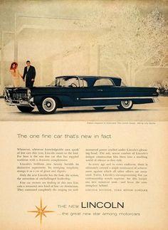 1958 Lincoln ad