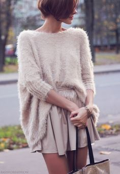 Nudes in fuzzy sweaters opinion, the