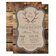 306 Best Country Baby Shower Invitations Images In 2019