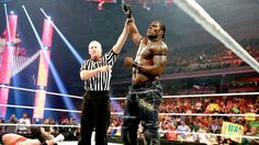 WWE.com: R-Truth vs. Wade Barrett: photos #WWE