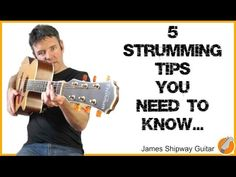 Strumming - How To Strum the Guitar - YouTube
