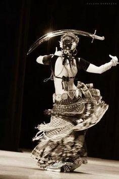 Fast sword dance