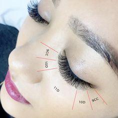 hair and beauty design Longer Eyelashes, False Eyelashes, Eyelashes Drawing, Grow Eyelashes, Natural Eyelashes, Fake Lashes, Eyelash Studio, Semi Permanent Lashes, Makeup At Home