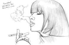 How to draw smoke step by step