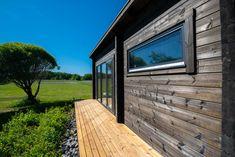 Pihasaunat - jykevästä lamellihirrestä - New Sauna