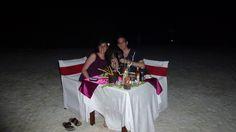 Fotografía: Rebeca Pizarro - Cena Romántica en isla desierta en Maldivas
