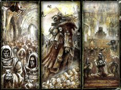Some John Blanche Art From The 40k Rulebook, Just Because It's Great | Wargaming Hub