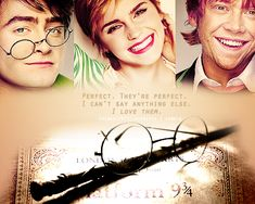 """Dan has the hardest job because Harry on the page is the most difficult, the most nebulous. He's just perfect, I think. 