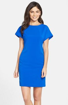 KUT from the Kloth Woven Sheath Dress available at #Nordstrom