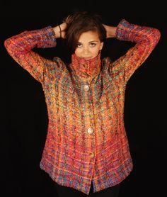 My Wardrobe, Wearable Art, Turtle Neck, Gallery, Sweaters, Weaving, Fantasy, Fashion, Moda