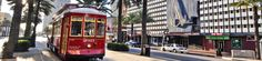 Using the streetcars to get around is convenient and fun!  Love taking the St. Charles Streetcar to the Garden District.