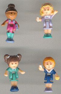 1993 - Polly Pocket Schoolhouse - Pollyville