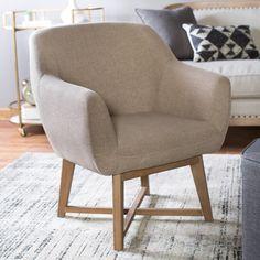 Belham Living Elliott X-Base Arm Chair