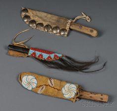 Three Knife Sheaths