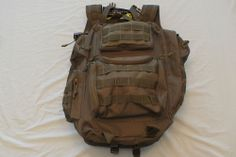 Voodoo Tactical Improved Matrix Pack Backpack Coyote NWT Free shipping Lower 48