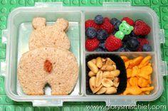 Kids Bear School Lunch