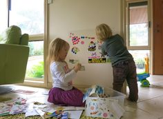 Reusable sticker wall, contact paper - quiet book page?