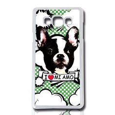 Head case cover for samsung #galaxy a7 #bulldog #frances case cover case cover,  View more on the LINK: 	http://www.zeppy.io/product/gb/2/121741115867/