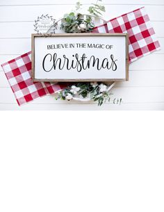 Believe In The Magic Of Christmas Christmas Signs Wood, Christmas Christmas, Painting Quotes, Farmhouse Christmas Decor, Holiday Decorations, Picture Show, Wood Signs, Im Not Perfect, Wall Decor