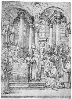 """""""Mass"""" (1523) - Albrecht Dürer (1471-1528)"""