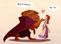 Nice to meet U   #BeautyAndTheBeast