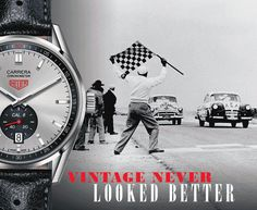 TAG Heuer Carrera Vintage Inspired Collection 20.08.2015