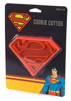 Superman Logo Cookie Cutter Fondant Cake Stamper for Birthday Party Favor Treats:Amazon:Kitchen & Dining