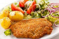cz2...Polski ''niedzielny '' obiad  -danie drugie ''schabowy'' ....tu obrazek - bez przepisu..........Wiejskie klimaty -Rural Atmosphere