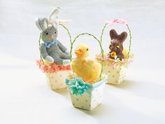 Easter Peat Pot Baskets #holiday #diy