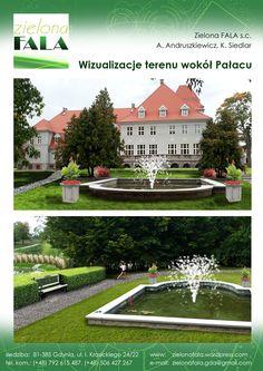 wizualizacje pałacu format A4