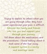 It's okay to let people listen. #infertility #grief #support