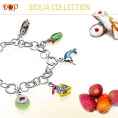 Discover #gioiellidop Sicilia Collection. Sterling Silver and Enamels Costume Jewelry, entirely handmade in Italy. Create your favorite recipe