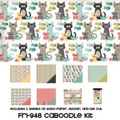 Three Bugs In a Rug - Frisky Collection - Caboodle Kit at Scrapbook.com $12.99